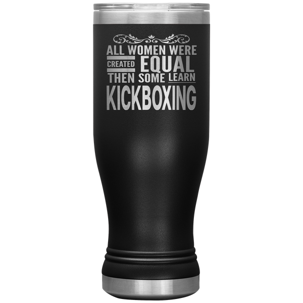 ALL WOMEN, LEARN KICKBOXING Gift For Martial Arts Sensei Student * Skinny Boho Vacuum Tumbler 20 oz. - ArtsyMod.com