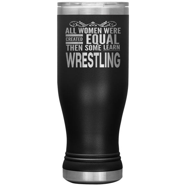 ALL WOMEN, LEARN WRESTLING Gift For Wrestler Coach Team Student * Boho Vacuum Tumbler 20 oz. - ArtsyMod.com