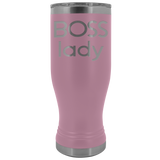 BOSS LADY Gift For Boss Day * Skinny Boho Vacuum Tumbler 20 oz. - ArtsyMod.com