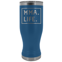 MMA LIFE Gift For Mixed Martial Arts Sensei, Students * Skinny Boho Vacuum Tumbler 20 oz. - ArtsyMod.com