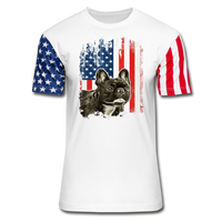 FRENCH BULLDOG AMERICAN FLAG Stars & Stripes T-Shirt - SP - ArtsyMod.com