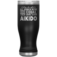 ALL WOMEN, LEARN AIKIDO Gift For Martial Arts Sensei, Student * Skinny Boho Vacuum Tumbler 20 oz. - ArtsyMod.com