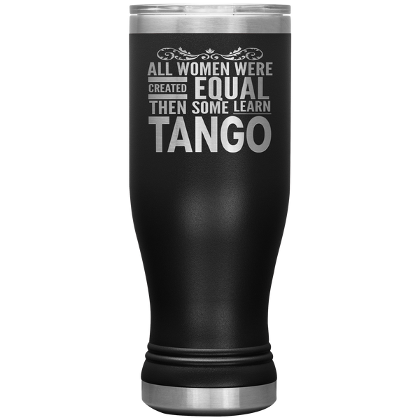ALL WOMEN, LEARN TANGO (Dancing) Gift For Dancer, Dance Teacher Student * Boho Vacuum Tumbler 20 oz. - ArtsyMod.com