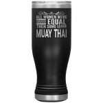 ALL WOMEN, LEARN MUAY THAI Gift For Martial Arts Kru Teacher Student * Boho Vacuum Tumbler 20 oz. - ArtsyMod.com