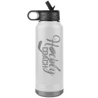 HOCKEY COACH * Water Bottle Tumbler 32 OZ.
