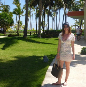SLO Fashion Handbag / Tote Travels to Punta Cana !