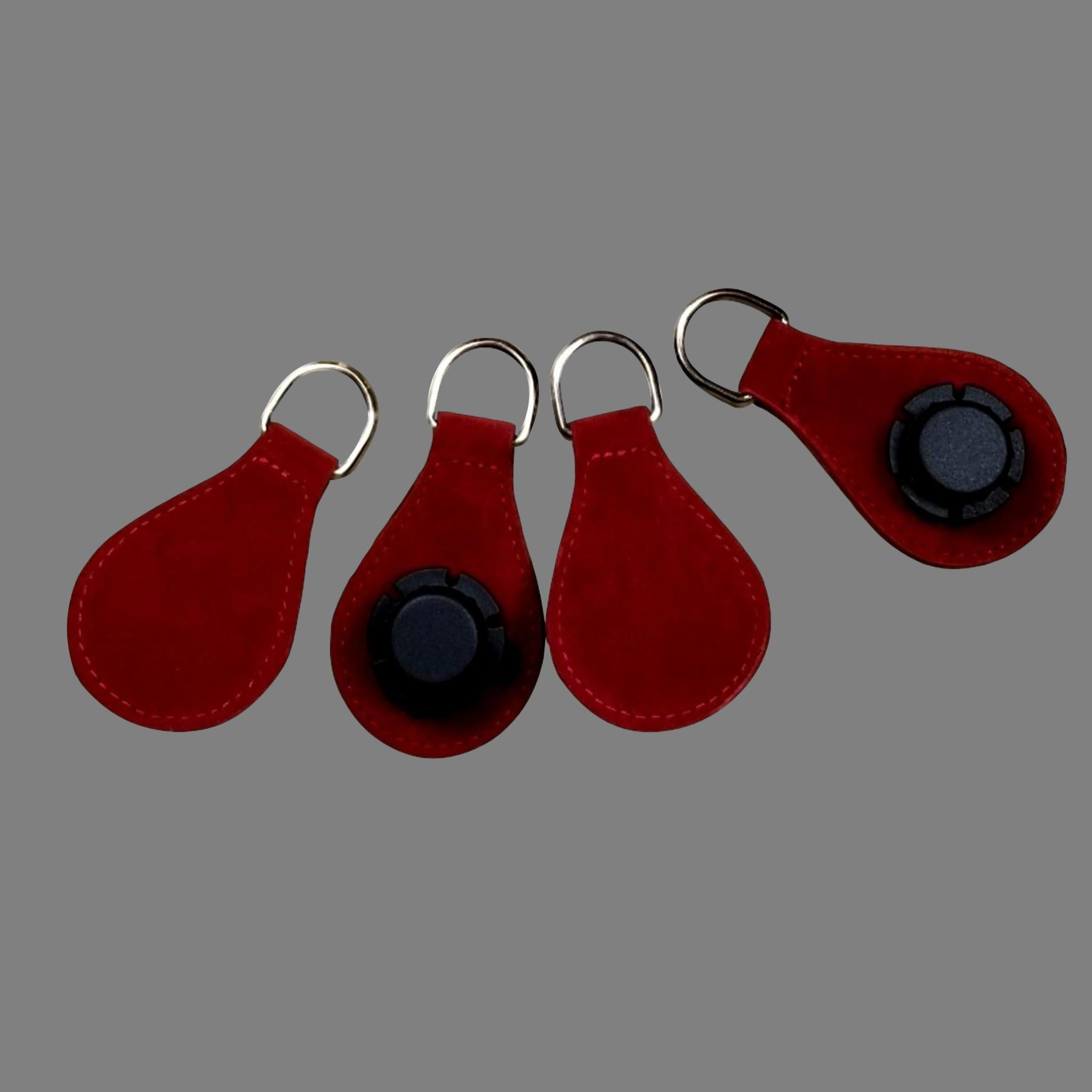 Designer Strap Handle - Red Drop Ends