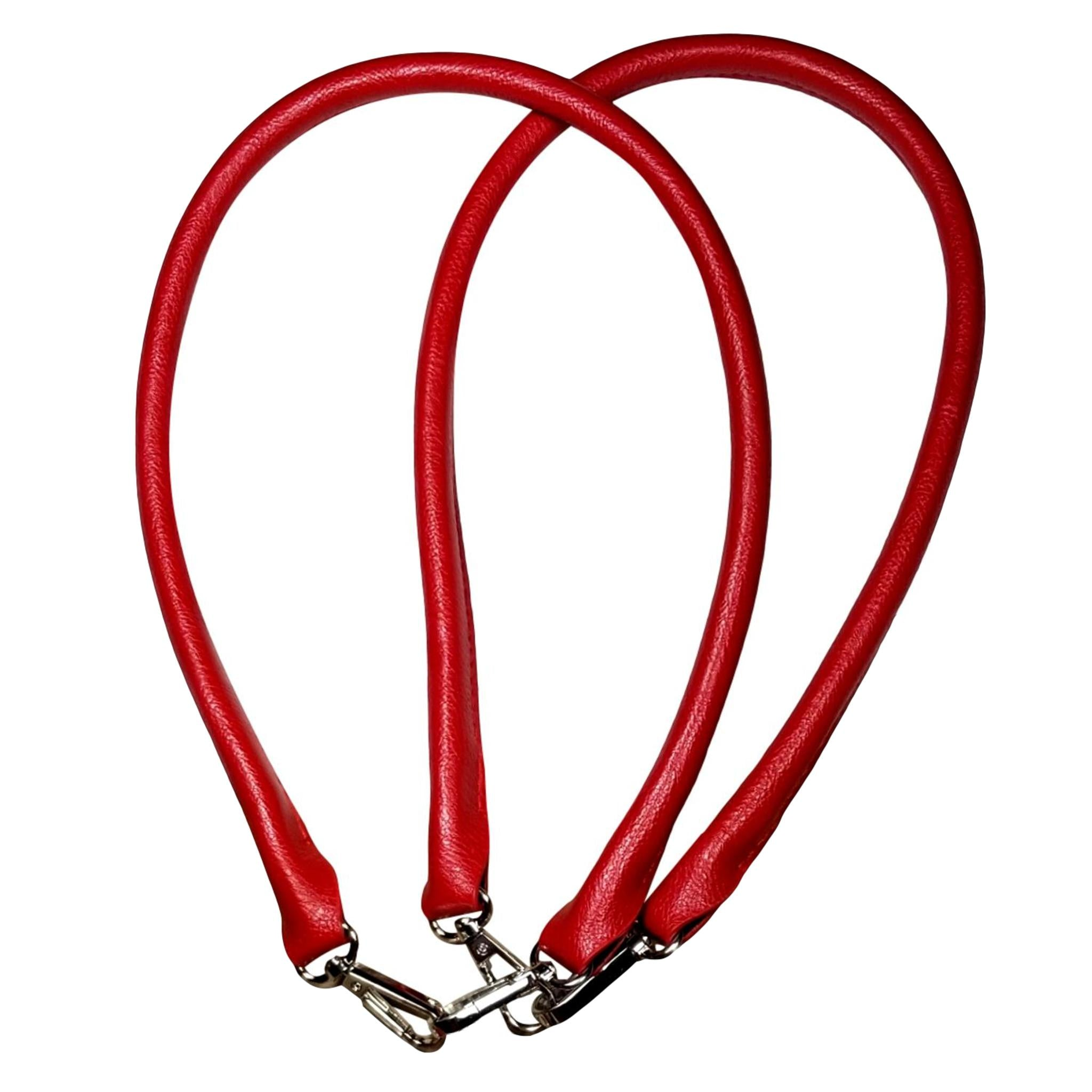 Designer Strap Handle - Red