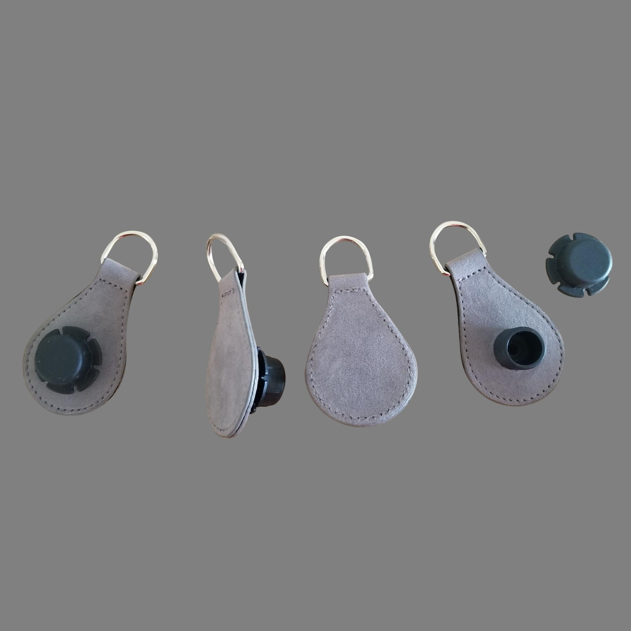Designer Strap Handle - Grey Drop Ends