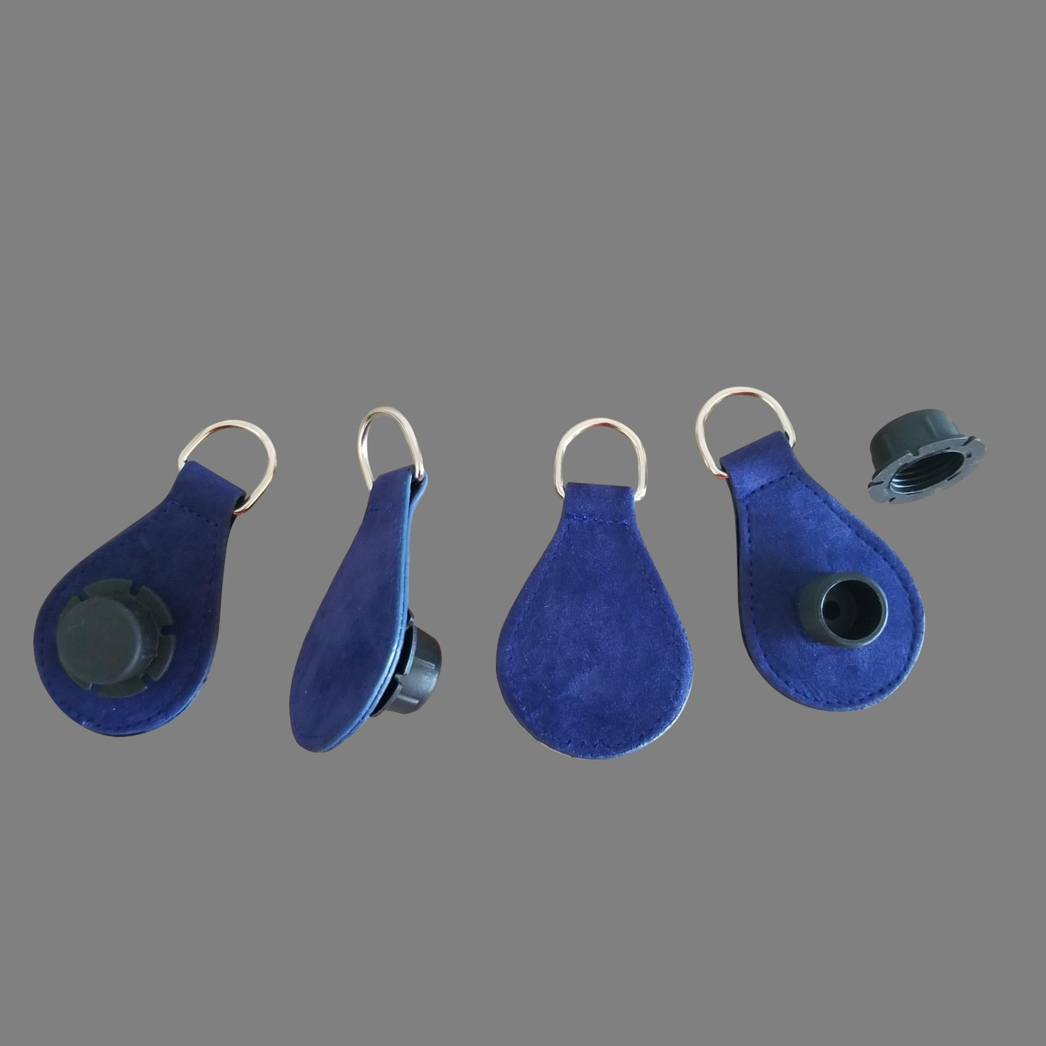 Designer Strap Handle - Royal Blue Drop Ends