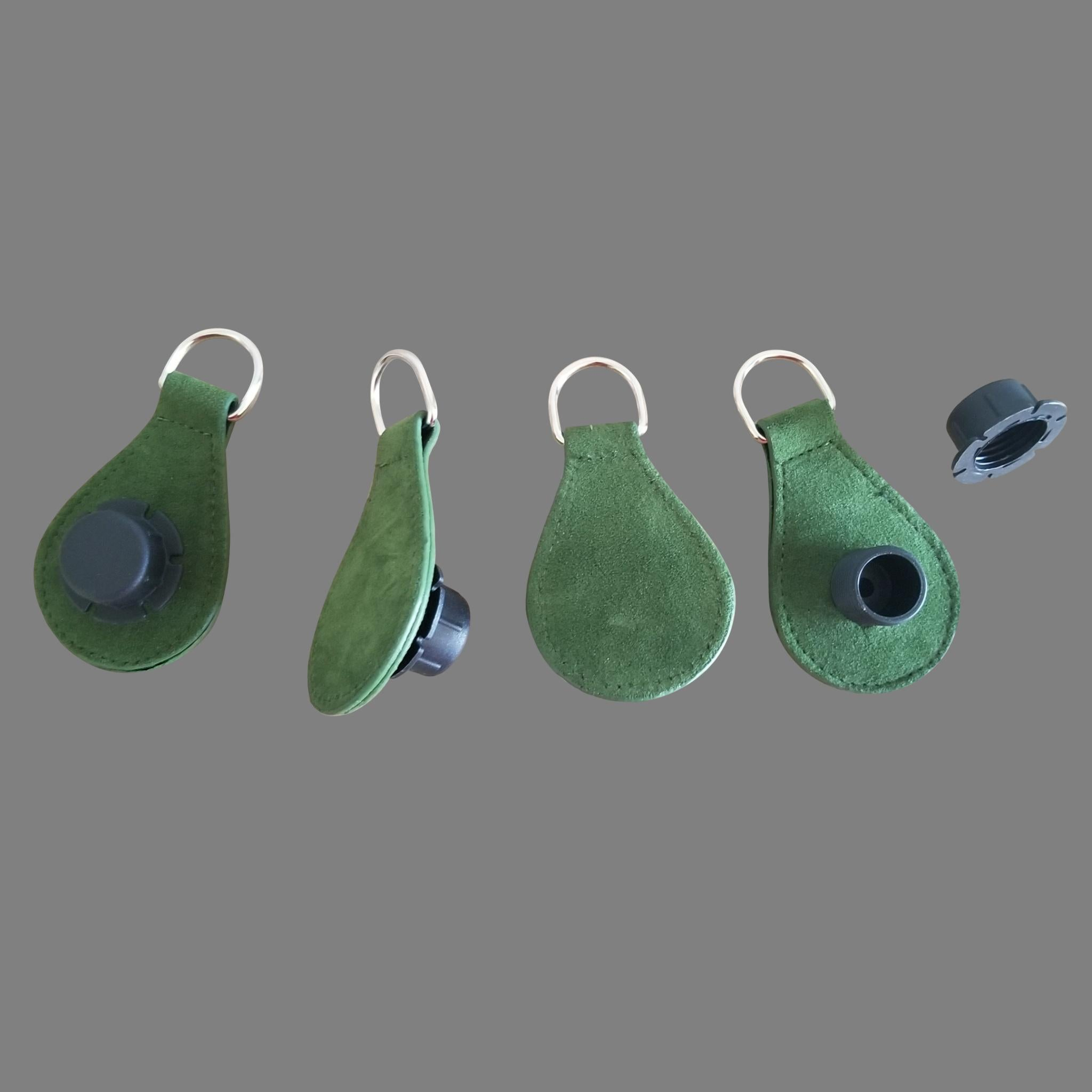 Designer Strap Handle - Moss Green Drop Ends