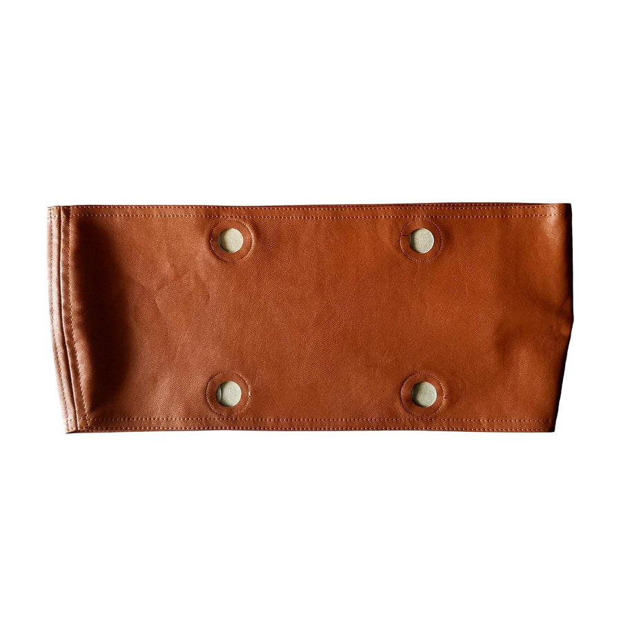 SLO Fashion Handbags. Faux Leather Tan Trim accessory