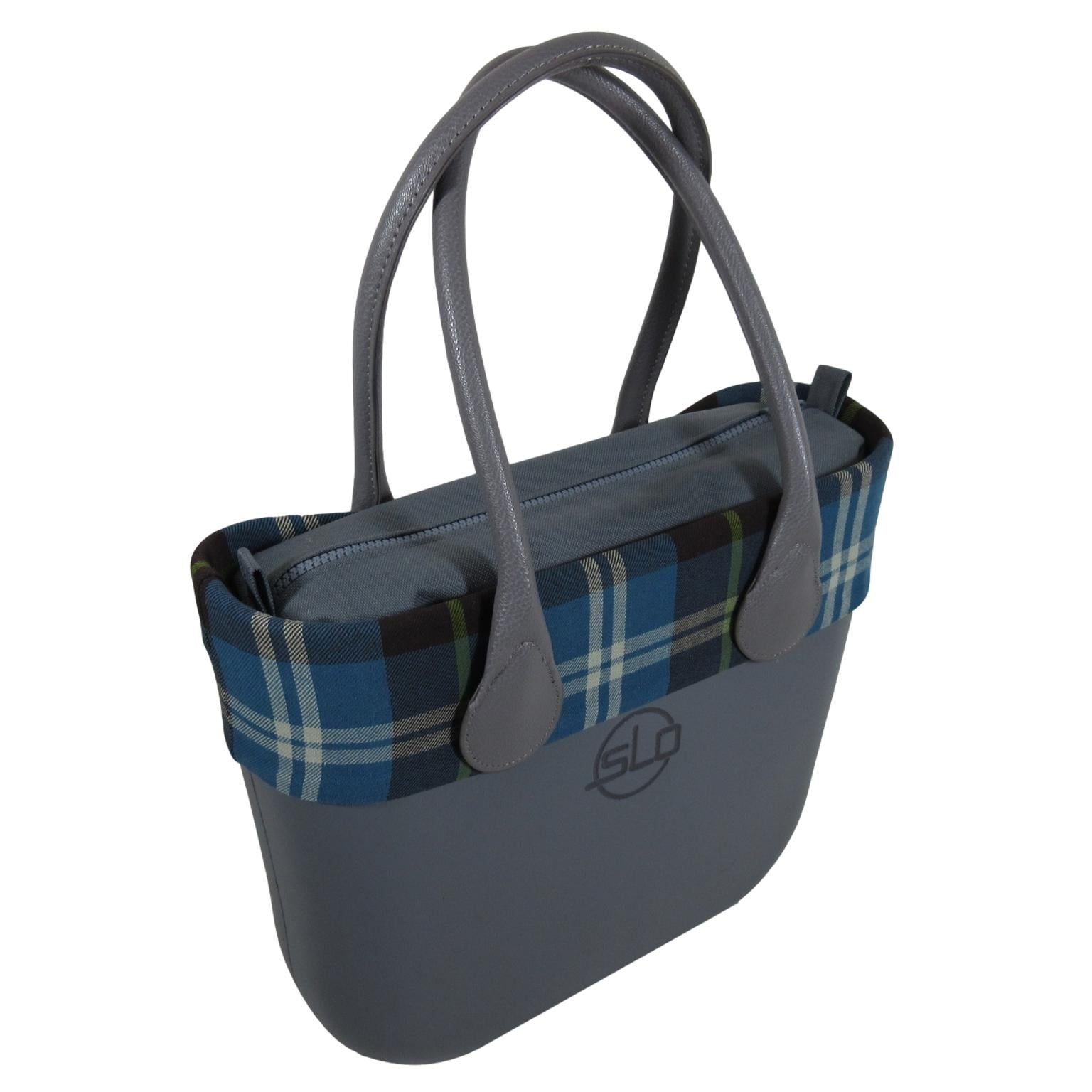SLOW SLO Fashion Petite Handbag Bonnie Tartan designer travel or every day tote