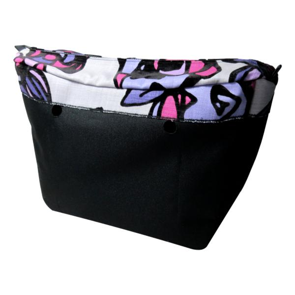 SLO Fashion Handbags - Designer Series Custom Insert Organizers - Colour Splash and Black Velvet
