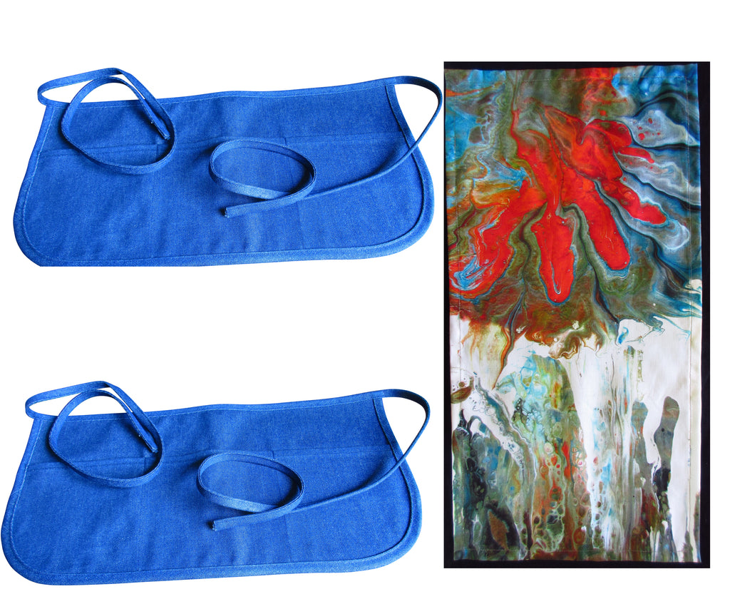 Free Art Print Towel with Purchase of 2 Little Work Aprons