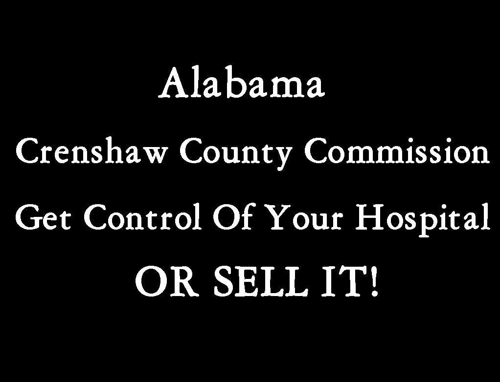 Get Control Of Your Hospital Or Sell It