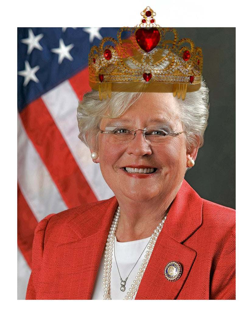Tyrant Queen Kay Ivey Decrees Rights Still Forfeit in Alabama
