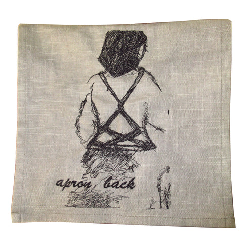 Apron Back Art Towel by Erin Murphy