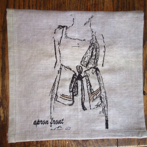 Apron Front Art Towel by Erin Murphy