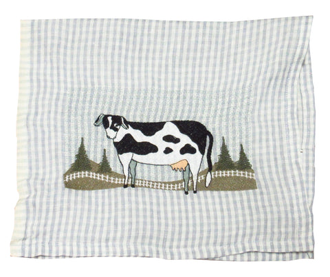 Cow Linen Towel