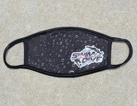 UW La Crosse SwimTeam Face Mask, super soft, double layered