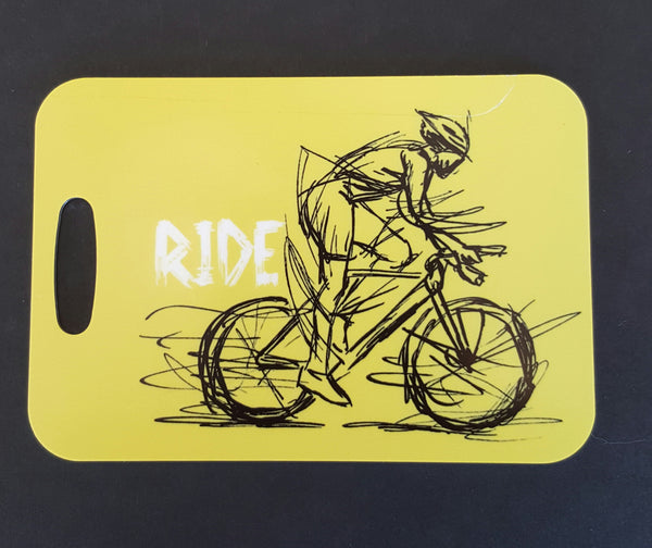 Cyclist Bag Tag - FlipTurnTags