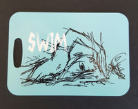 Swim Swimmer triathlon Bag Tag swim luggage tag - FlipTurnTags