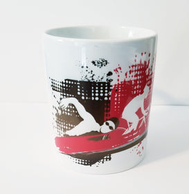Swim Bike Run Triathlete mug Triathlon Mug Christmas Gift