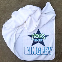 CUSTOM microfiber swim towel