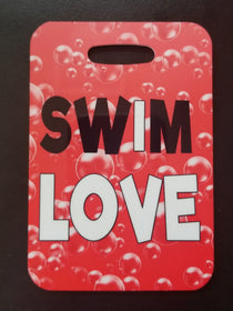 Swim Love Bag Tag