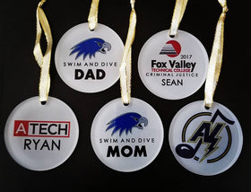 Custom Acrylic Ornament - FlipTurnTags