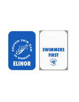 Dolphin Swim Team Bag Tag - FlipTurnTags