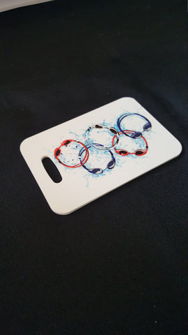 Goggles Swim Bag Tag, Sport Bag Tag, Swim Team Bag Tag - FlipTurnTags