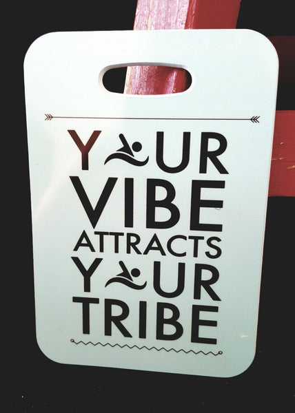 Swim Bag Tag, Sport Bag Tag, Swim Team Bag Tag, Swim Party favor, Your vibe attracts your tribe, swim christmas gift - FlipTurnTags