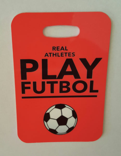 Play Futbol Soccer Bag Tag - FlipTurnTags