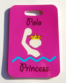 Polo Princess Water Polo Swim Bag Tag - FlipTurnTags