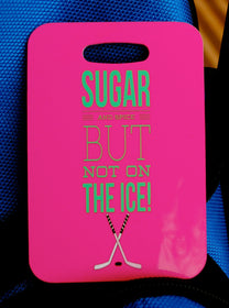 Hockey Bag Tag Sport Bag Tag Girls Luggage Tag - FlipTurnTags