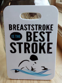Breaststroke Is The Best Stroke Swim Bag Tag - FlipTurnTags