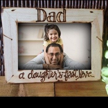 Personalized Wooden Frame - HandmadeJunction.in
