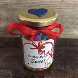 Personalized Chocolate Jar - HandmadeJunction.in