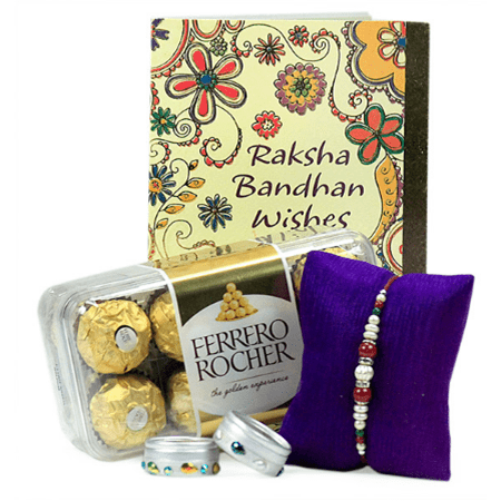 Rakhi_Hamper_Ferrero_Handmade_Junction