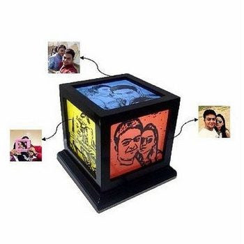 Sketch Lamp - HandmadeJunction.in
