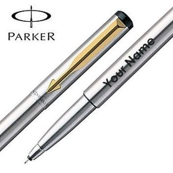 Personalized Parker Steel Pen - HandmadeJunction.in