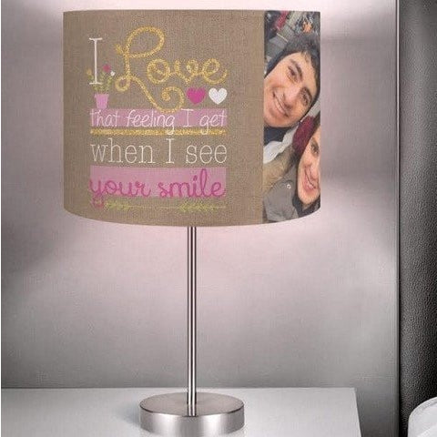 Metallic Photo Lamp