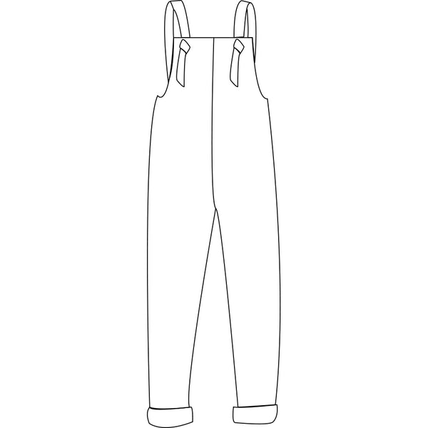 The Snuggle Is Real - Knotted Overalls Adults