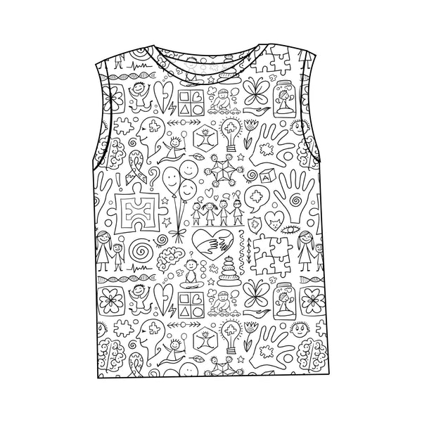Autism Awareness - Kids Tank