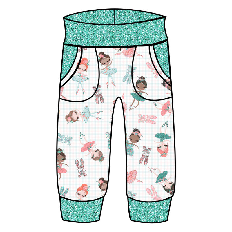 Grow With Me Joggers Petite Ballerina
