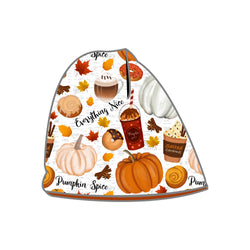 Reversible Beanie - Pumpkin Spice & Everything Nice