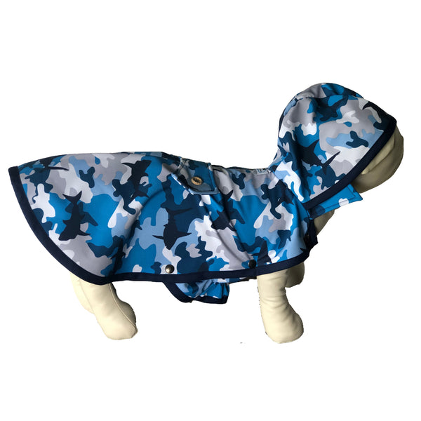 Shark Attack Raincoat - Water Resistant - Ruff Stitched