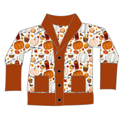 Boyfriend Cardi - Pumpkin Spice & Everything Nice